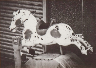 Fairground Horse, Collotype, 2009