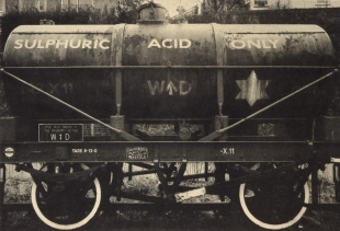 Sulphuric Acid Only , Duotone Collotype, 2012